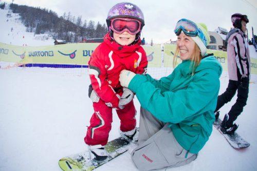 Florence Bonnier - Monitrice snowboard