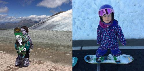 Matériel initiation snowboard et snowboard pour enfant - Burton