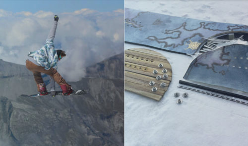 éco-conception de snowboards - NICHE - Eco-friendly snowboards
