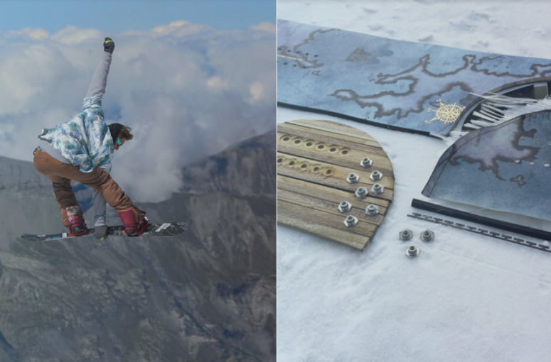 Éco-conception : skis, snowboards et accessoires