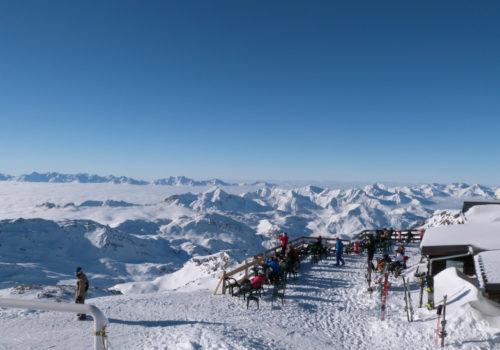 Caron Freeride Café - top 10 des plus belles terrasses d'altitude