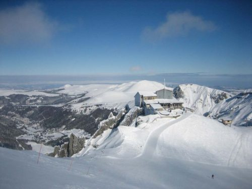 Le Pic du Sancy - top 10 des plus belles terrasses d'altitude
