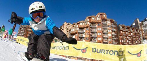 Snowboard au village des enfants - Avoriaz