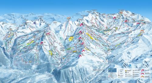 Skier aux 3 Vallées