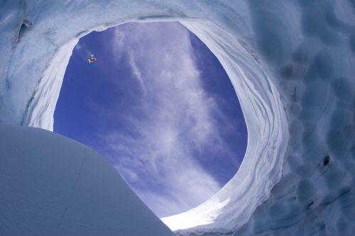Sylvain Bourbousson à Nevados de Chillian, Chili - © ERIC BERGERI