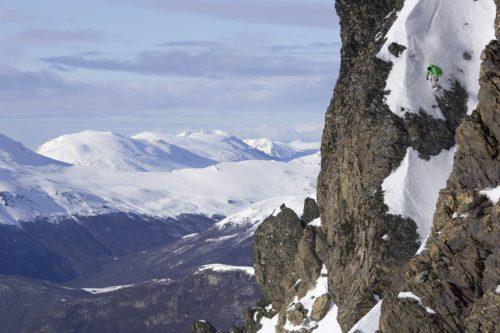 Andrew Crawford à Ushuaia, Argentine - © ERIC BERGERI