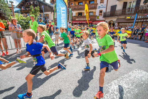 Trail le Bélier version kids à La Clusaz