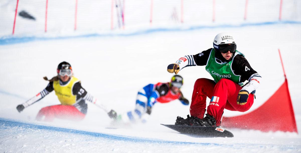 Nelly Moënne-Loccoz, l'étoile du snowboardcross