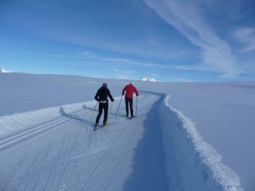 ski nordique sur le plateau de Beauregard
