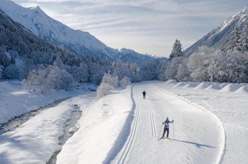 ski nordique à Chamonix