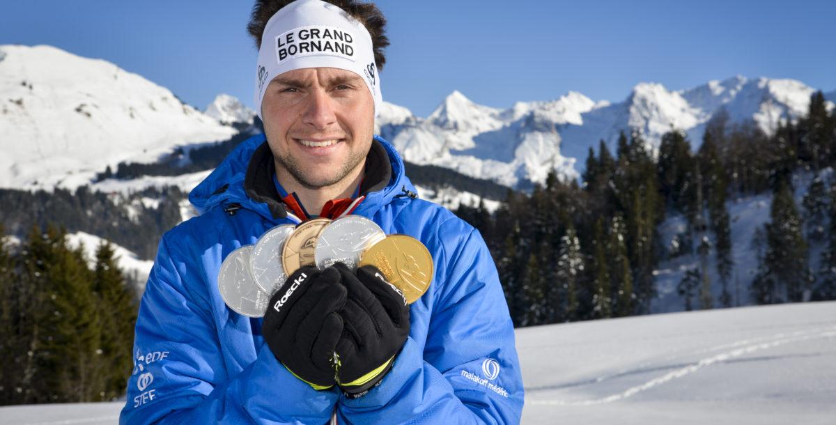 """Benjamin Daviet collectionne les médailles ! Le champion du Grand-Bornand porte haut les couleurs de sa station. Crédit Photos © """"D. Machet - Le Grand-Bornand"""""""