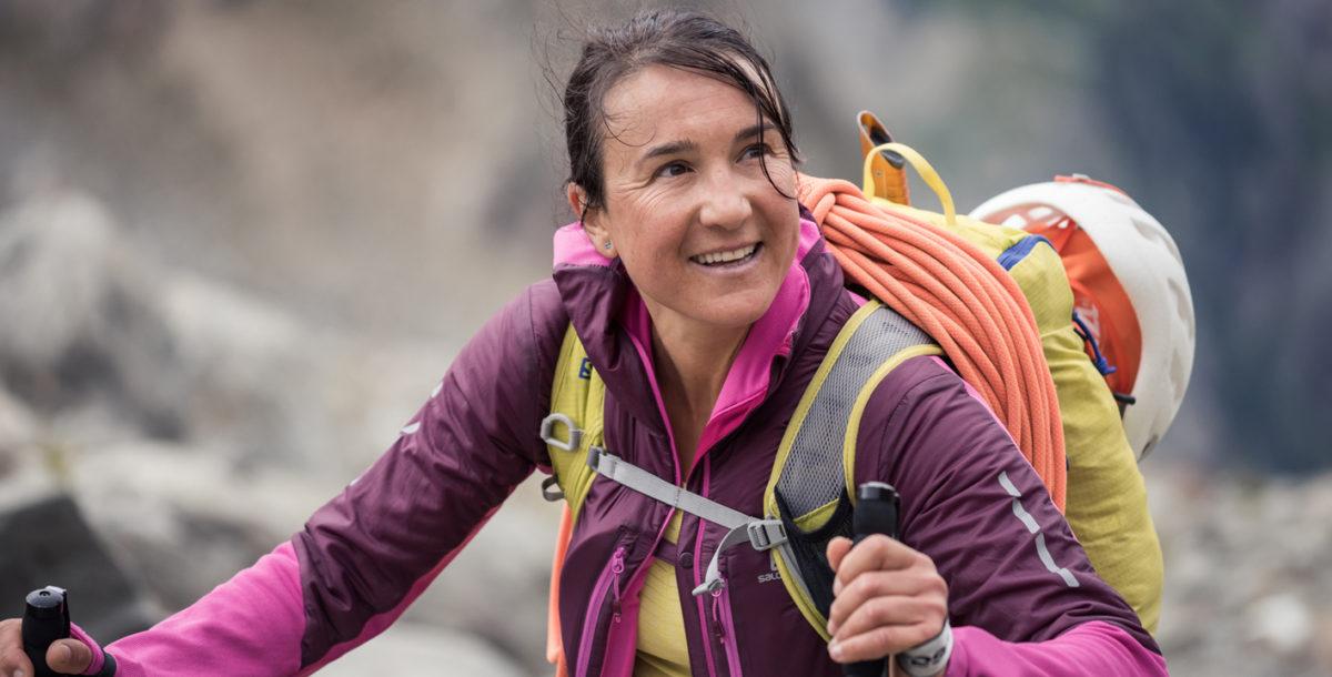 Liv Sansoz, 82 fois au sommet !