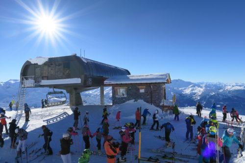 La Rosière a inauguré en décembre 2018 deux nouveaux télésièges 6 places de dernière génération, ces engins très silencieux donnent accès au Mont Valaisan. © Sandra Stavo-Debauge