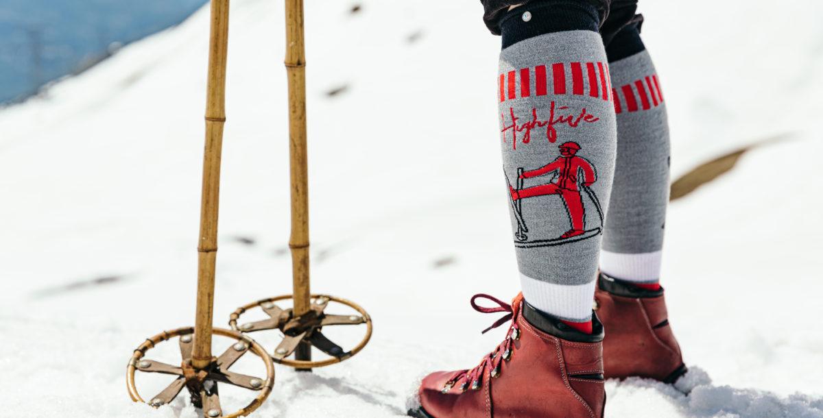 Bien choisir ses chaussettes pour le ski !
