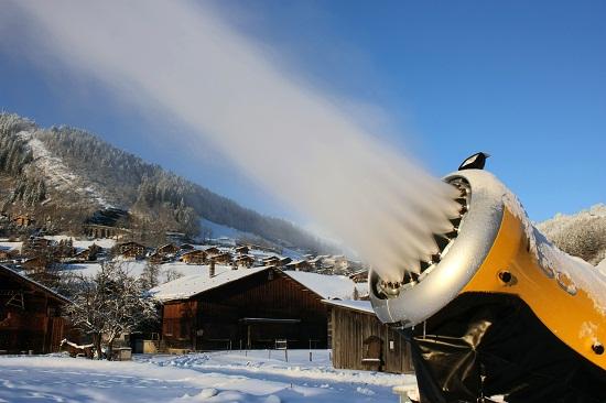 Canon à neige