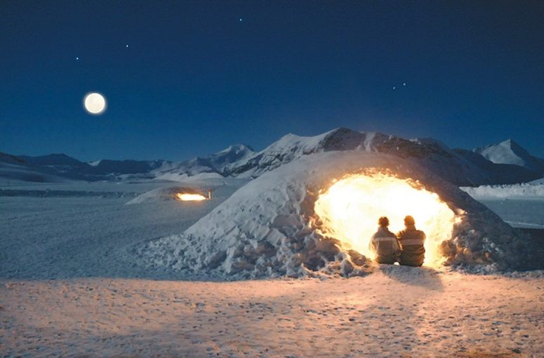 Passer la nuit en igloo