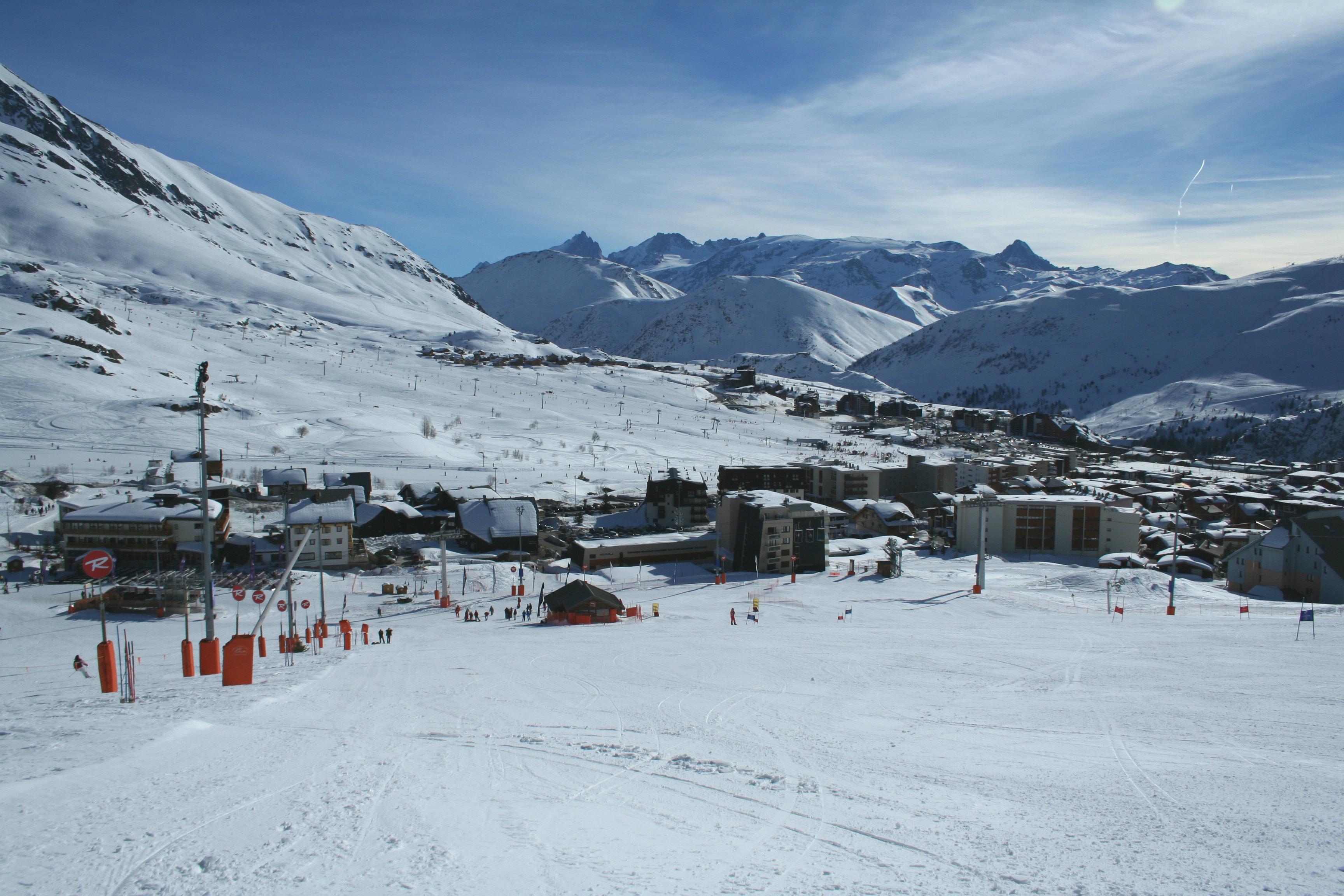 Alpe d'Huez, station de ski