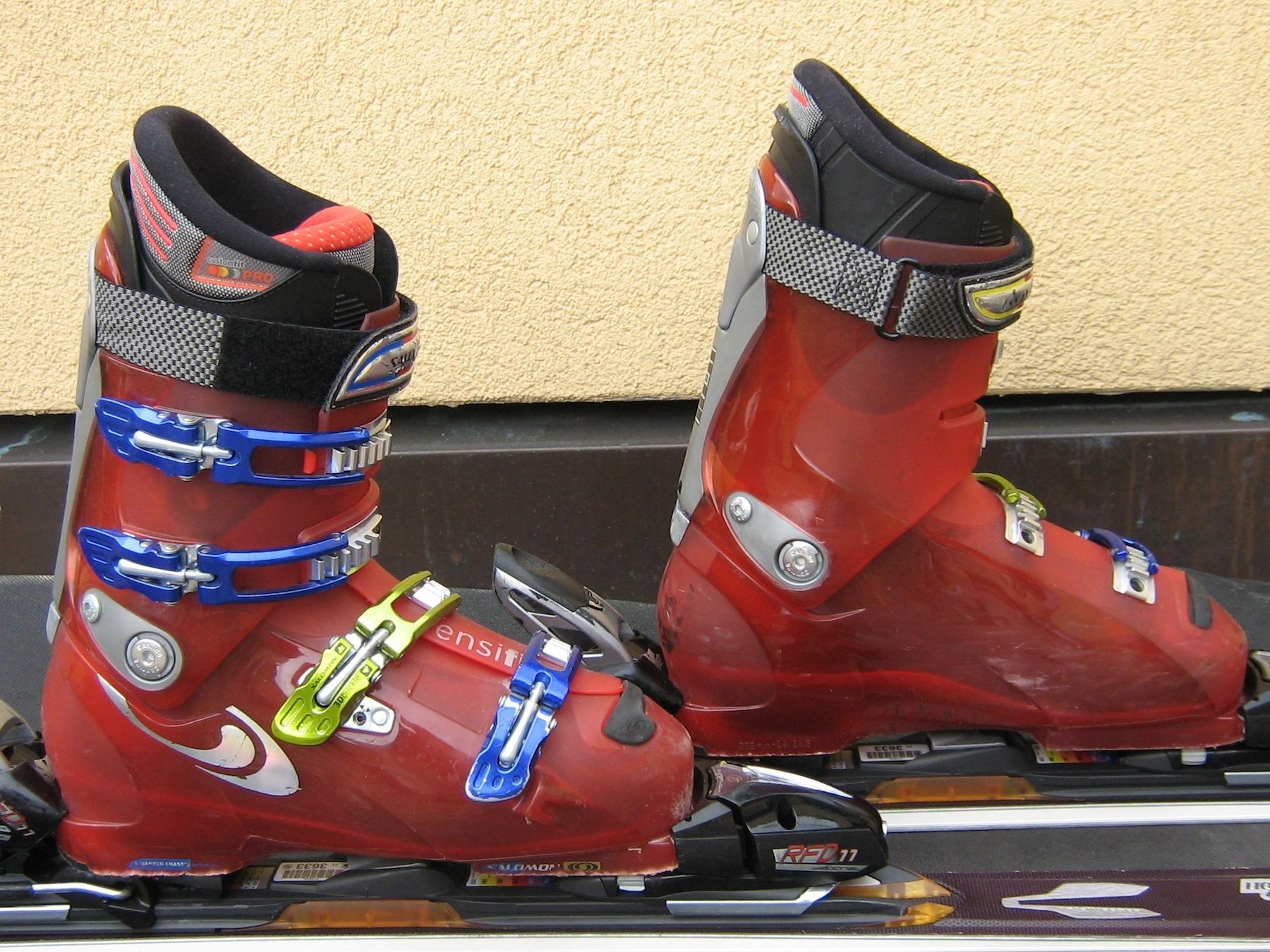 Chaussures de ski Salomon - Crédit photo : Salomon