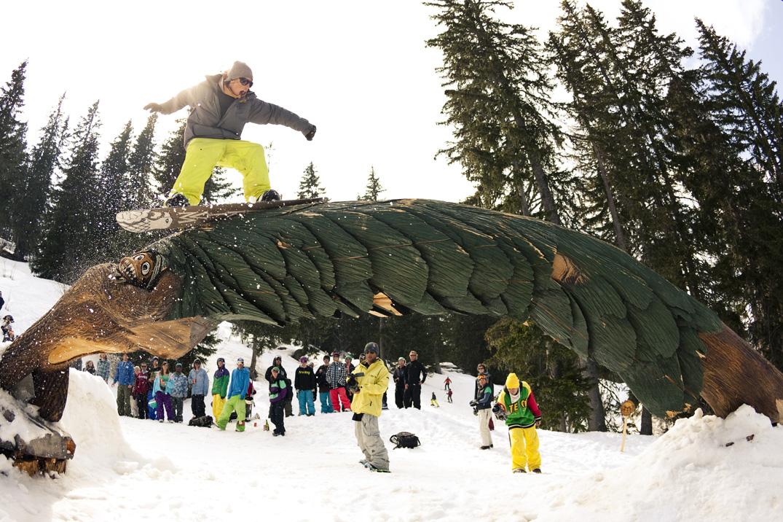 Snowpark d'Avoriaz (@Cyril Muller)