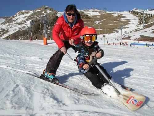 Snowscoot enfants (®VIRGILE/Le Dauphiné Libéré)