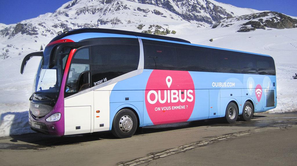 OUIBUS est une bonne alternative pour vous rendre dans vos stations.