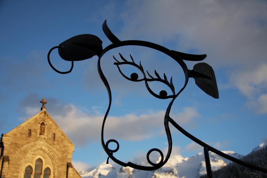 Art vache - (® E. Lantelme)