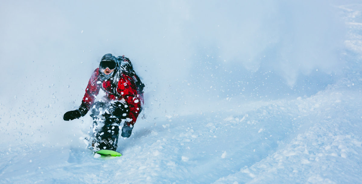 « J'habite Annecy, quand il neige je vais souvent à La Clusaz, le secteur de Balme, franchement j'adore ! », dixit Victor © The Roster – David Malacrida