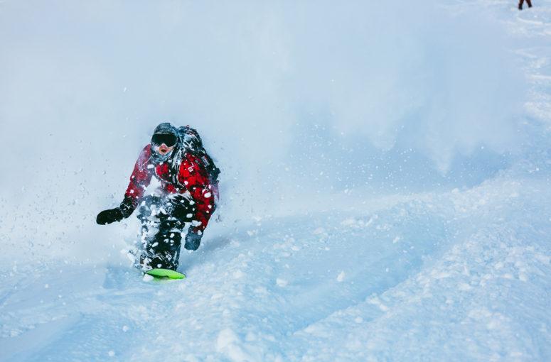 Victor Daviet : activiste du snowboard