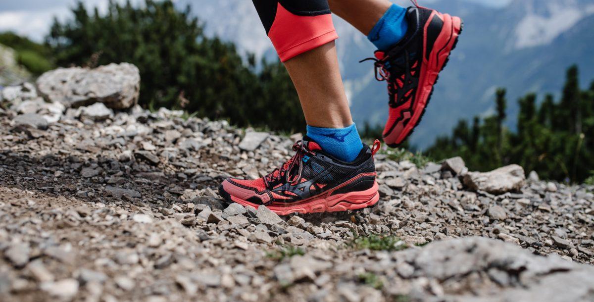 Les semelles Michelin sont très efficaces pour le trail running. La marque Mizuno fait notamment appel à la marque de pneus pour sa gamme trail.