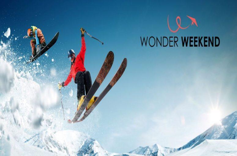 Réserver son weekend ski avec Wonder Weekend