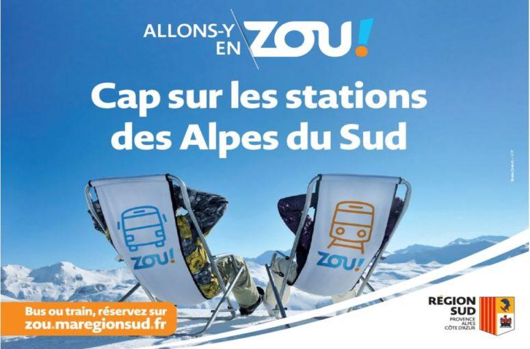 Direction les stations des Alpes du Sud
