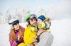 Partir au ski avec un bébé: conseils et bons plans